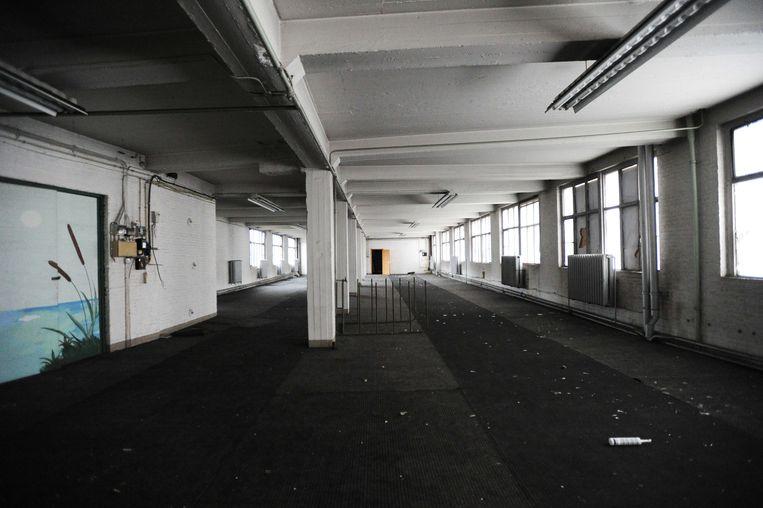 Zo ziet het Fobrux-gebouwencomplex er vanbinnen uit.