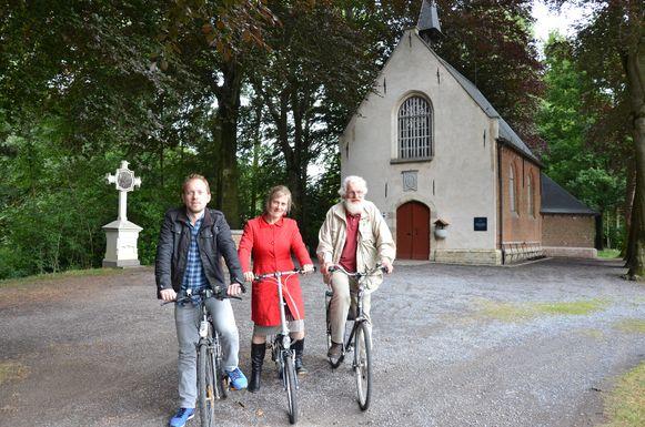 De kruiskapel krijgt jaarlijks duizenden bezoekers over de vloer.