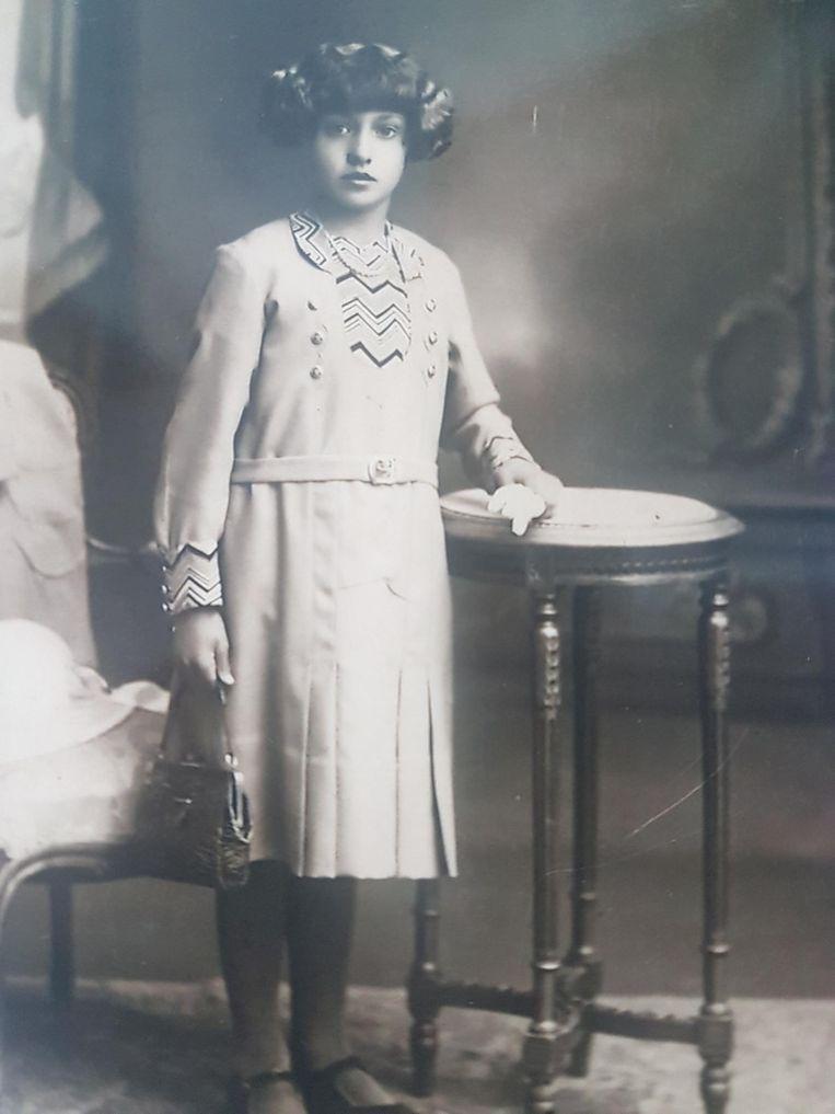 Emelie in haar jonge jaren.