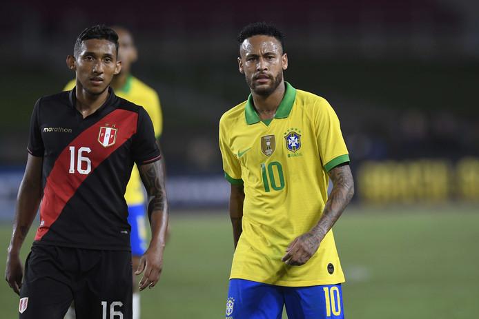 Neymar est monté au jeu