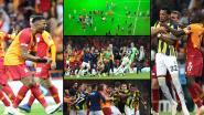 Grote rivalen lusten elkaar rauw in verhitte derby van Istanboel: ex-Bruggeling scoort, drie rode kaarten, hulptrainer gaat Skrtel te lijf en zelfs een heuse ploegenachtervolging
