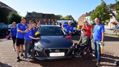 Auto's wassen voor Brent bracht meer dan 1.000 euro op
