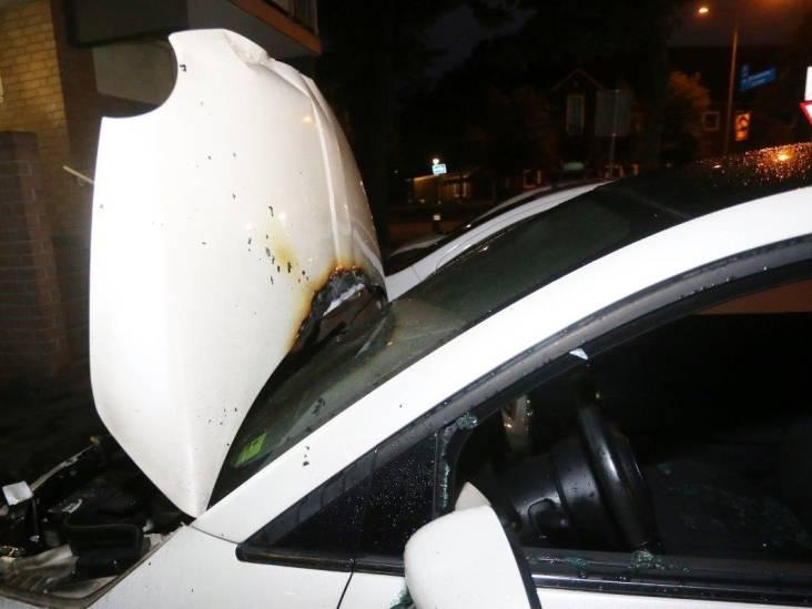 Autobrand in Den Bosch, politie gaat uit van brandstichting