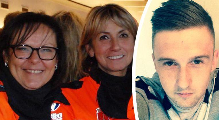 Slachtoffers Soraya Belkacemi, Lucile Garcia en Cyril Vangriecken.