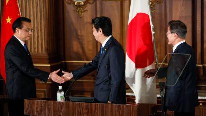 Japan, China en Zuid-Korea gaan samenwerken rond denuclearisatie van Noord-Korea