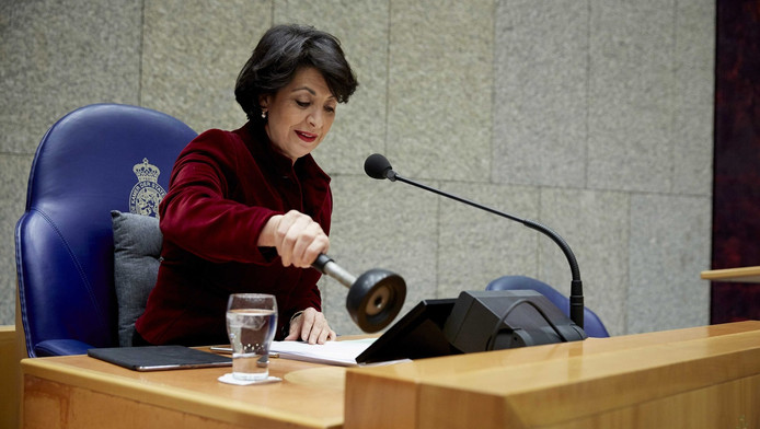 Khadija Arib, de nieuwe kamervoorzitter