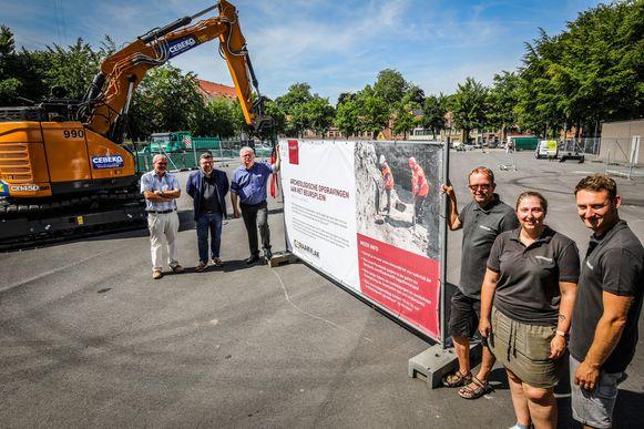 Brugge er zullen archeologische opgravingen uitgevoerd worden op het Beursplein