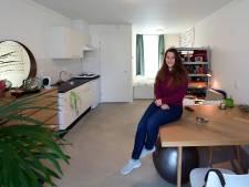 Flexibele huizen in opkomst: Leanne (25) is blij met haar 'containertje'