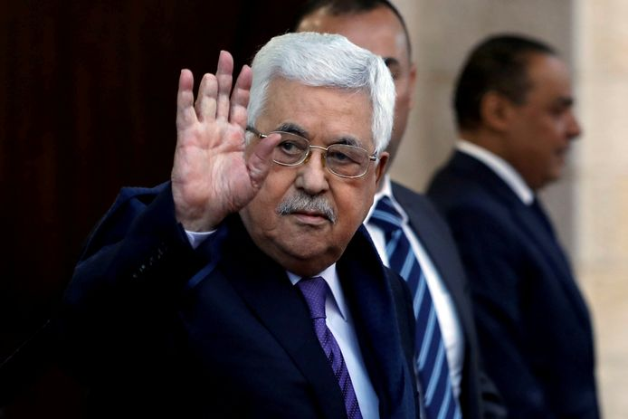 De Palestijnse president Mahmoed Abbas.