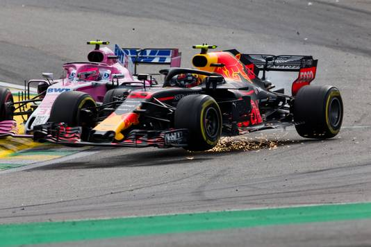 Vorig jaar was Verstappen al dicht bij de eindzege op Interlagos, maar gooide een crash met Ocon roet in het eten.
