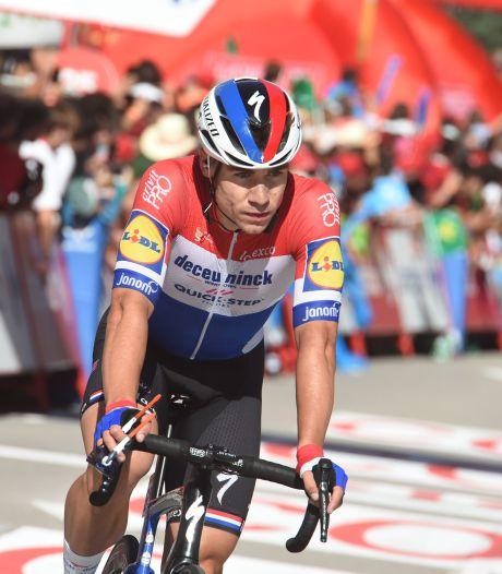 Jakobsen komt tekort in Vuelta: 'Mijn benen zeiden 'boem''