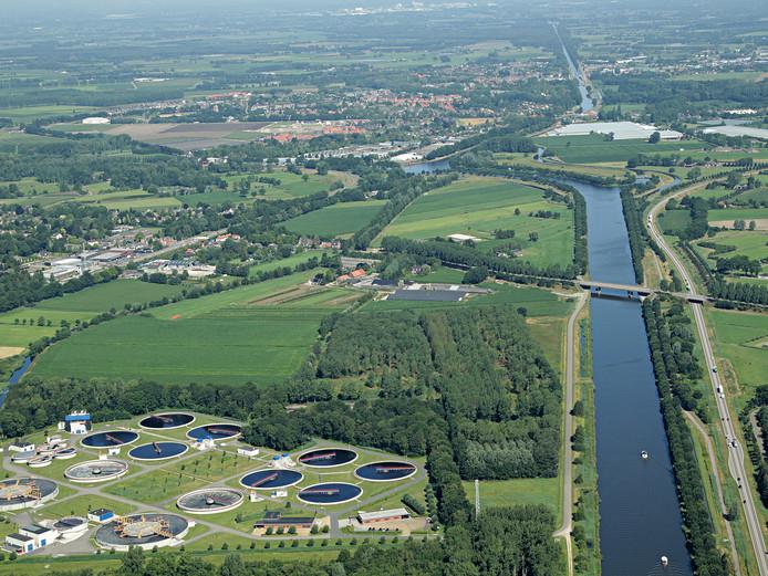 Waterzuivering in Aarle-Rixtel.