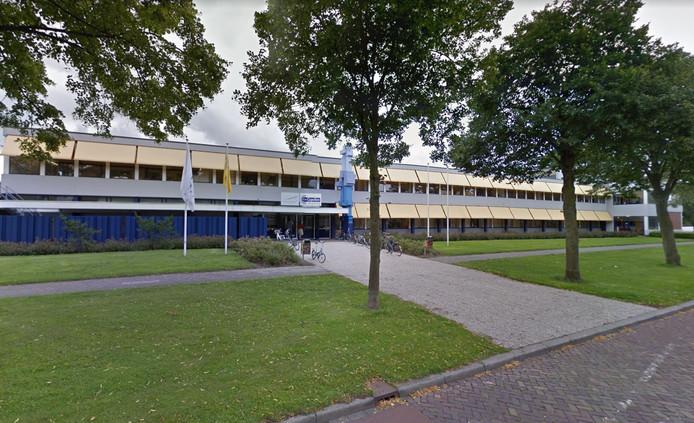 Scholengemeenschap Van Der Capellen aan de Lassuslaan in Zwolle.