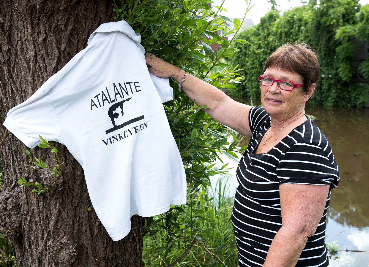 Turntrainster Mary van Eijk hing na 43 jaar haar clubshirt aan de wilgen