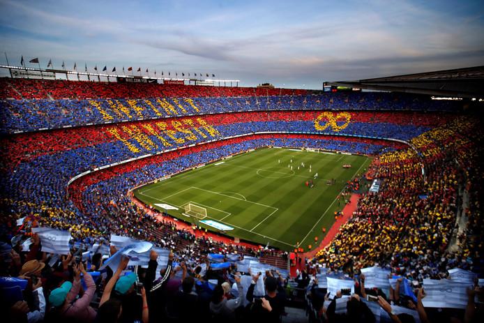 Camp Nou, het iconische stadion van FC Barcelona.