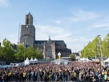 Vitesse-fans boos: geen schermen met Johan Cruijffschaal in de stad