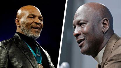 """Die keer dat Mike Tyson Michael Jordan net niet in elkaar sloeg: """"Ik weet dat je wat hebt met mijn vrouw!"""""""