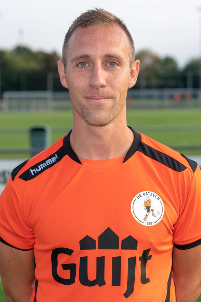 Rob Aarntzen maakte de enige Gendtse treffer in ede, waar De Bataven DTS'35 met 2-0 versloeg. De thuisploeg scoorde nog in eigen doel.
