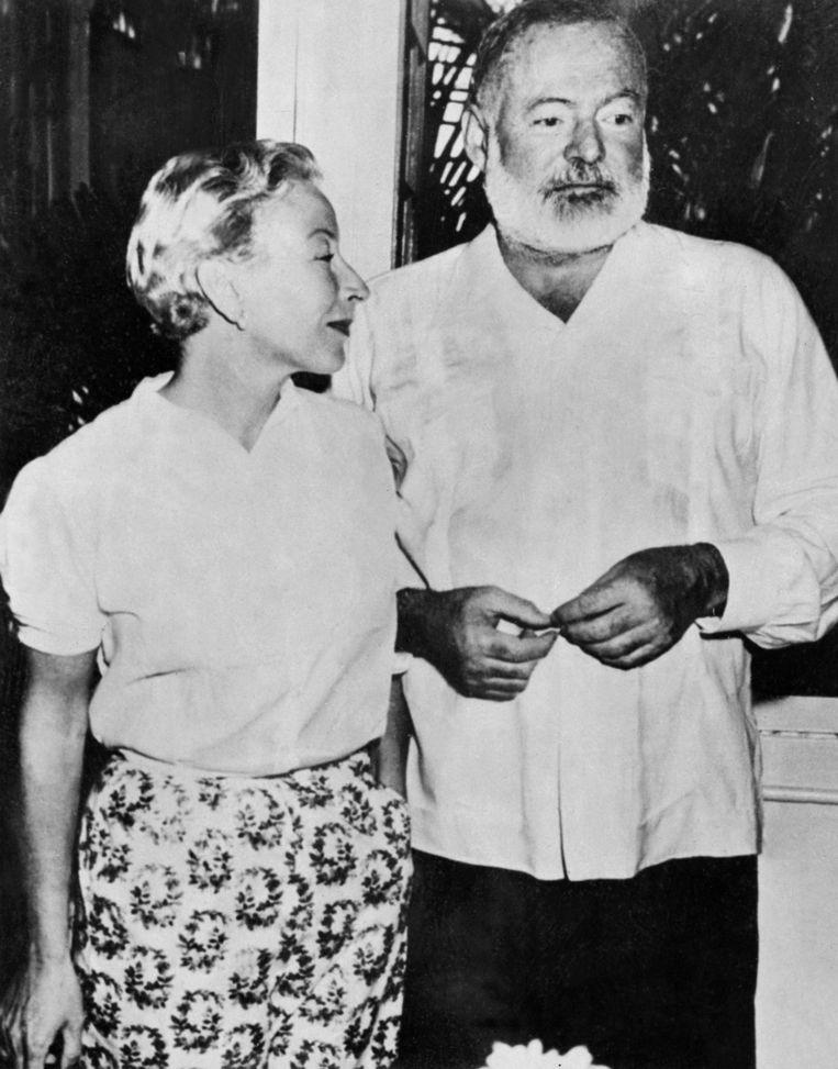 Krug-lover: Hemingway. Beeld AFP
