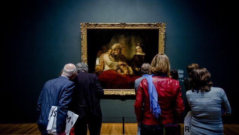 De tentoonstelling Late Rembrandt trok meer dan een half miljoen bezoekers. Beeld anp