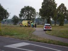 Scooterrijder onderuit door grind in Aalten
