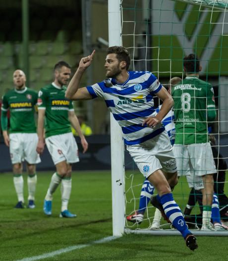Tiental De Graafschap knokt zich langs FC Dordrecht; derde periodetitel lonkt
