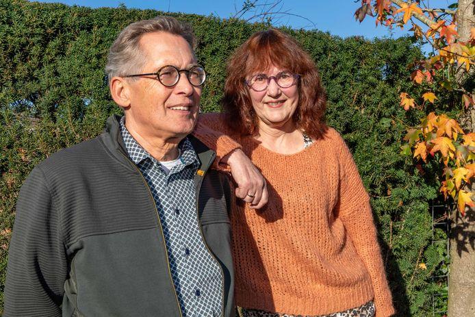 Peter de Boevere en Eliane Jansen-de Boevere.
