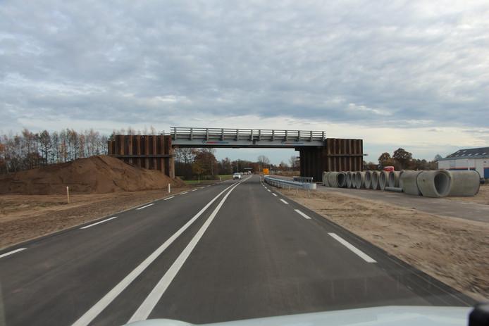 Bypass in N347 in gebruik