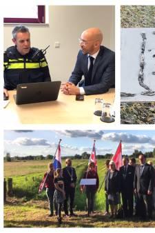 Gestelse burgemeester doet aangifte van diefstal en vernieling oorlogsmonument