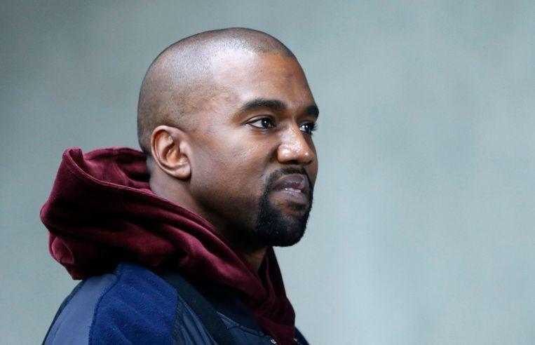 Kanye, hier in Parijs in maart. Beeld EPA