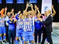 Superieur FC Eindhoven duldt geen enkele tegenstand: zaalvoetbalbeker voor vierde keer naar Aalsterweg
