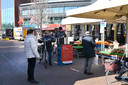 De markt in Boxmeer.