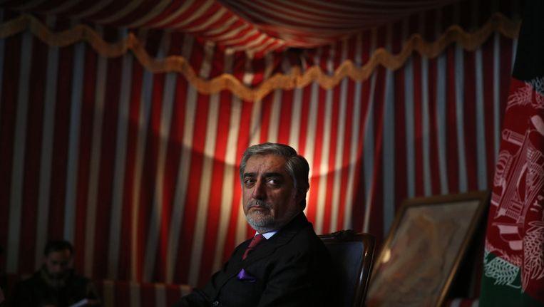 Abdullah, minister van Buitenlandse Zaken van 2001 tot 2006, staat hoog in de peilingen. Beeld ap