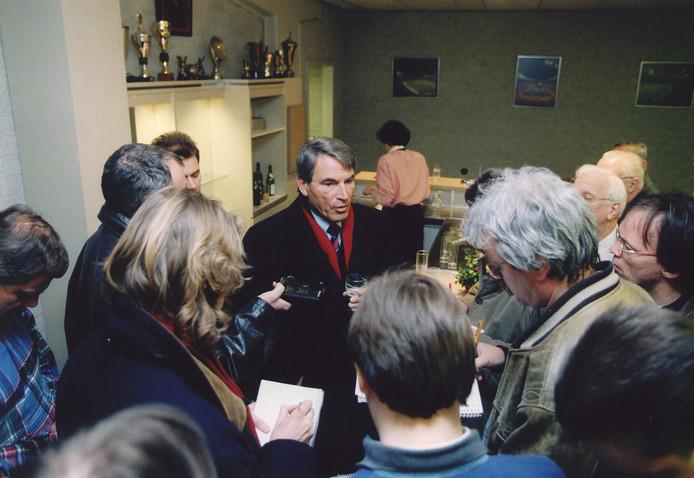 Willem 'Bill' Maeyer hoefde niet in de belangstelling te staan, maar zag ook dat dat als voorzitter van PSV niet lukt.