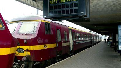 Treinverkeer verstoord in Antwerpen-zuid