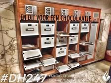 Dief breekt brievenbussen open voor chocola
