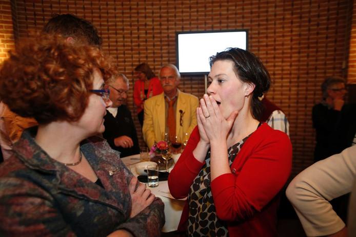 Lijsttrekker Janneke van Vugt van Hart voor Rooi in 2014.