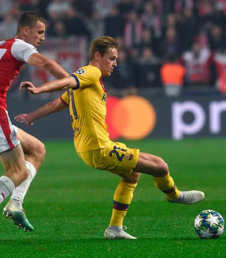 Barça nipt langs Slavia Praag, Inter verslaat Dortmund