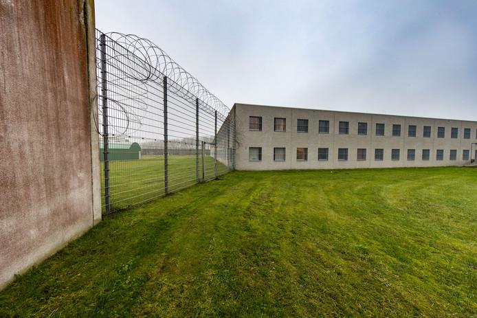 De gevangenis (Penitentiaire Inrichting) in Lelystad.