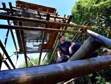 Binnenkort kunnen we weer over de Kraaijenberg uitkijken: in brand gestoken toren wordt hersteld