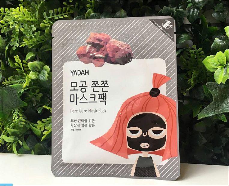 Sheetmask van Haru Haru Beauty. Beeld stock