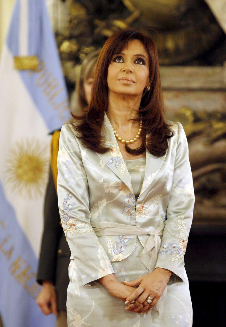Argentijnse president Cristina Fernández Beeld epa