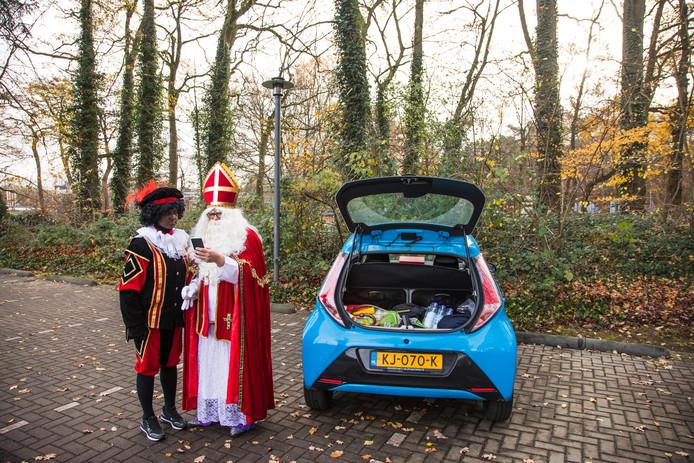 Sint en Piet op pad in Amersfoort, Soest en Hilversum.