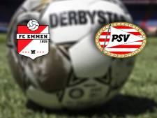 LIVE   PSV met Max en Fein, maar zonder Schmidt op bezoek bij FC Emmen