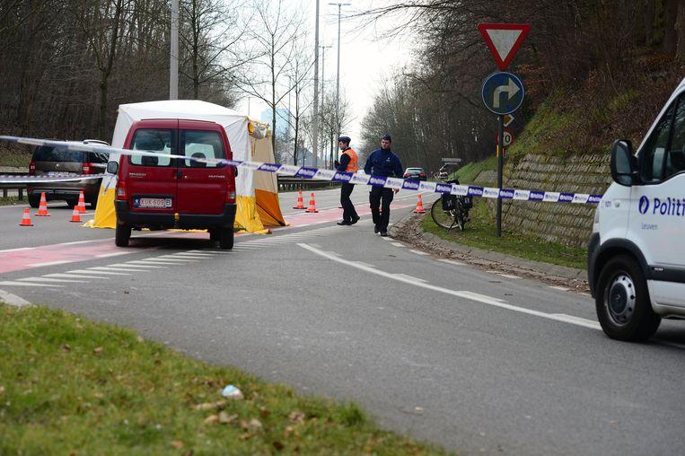 Aan de Rennessingel kwam fietsster Agnes Lambrechts om het leven maar aan het kruispunt is nog steeds niets veranderd.