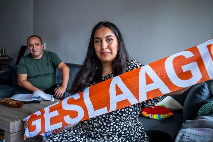 Arpine Aroyan (17) is net geslaagd voor haar HAVO. Na de zomer gaat ze bedrijfskunde studeren aan de Hogeschool Utrecht