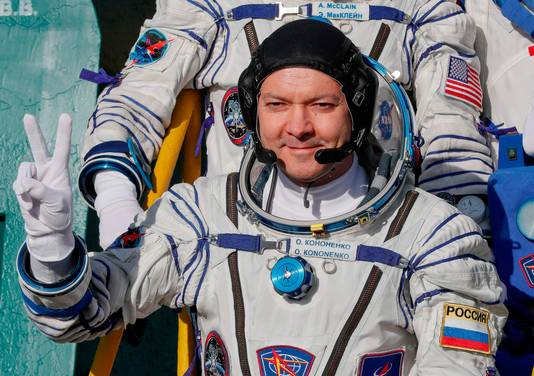The Russian cosmonaut Oleg Kononenko can once again wear his suit for a spacewalk of about six hours.