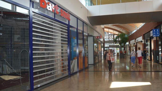 Leegstand treft ook Ninia Shopping Center