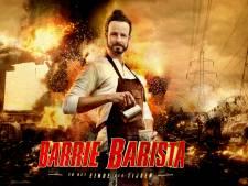 Iedereen is alle schaamte voorbij in Barrie Barista