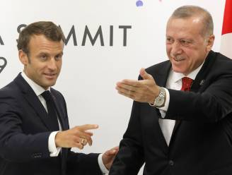 """Erdogan hoopt dat Frankrijk """"zich zo snel mogelijk"""" van Macron """"ontdoet"""""""
